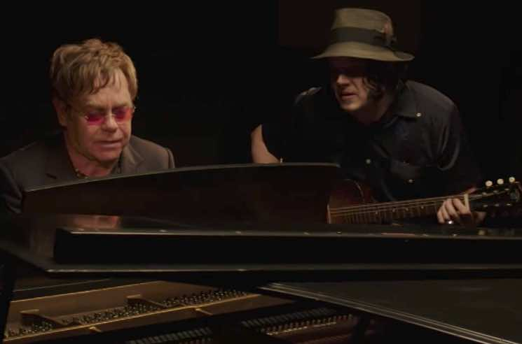 Watch Jack White And Elton John Join Forces For Quot Two