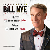 Bill Nye the Science Guy Is Coming to Alberta