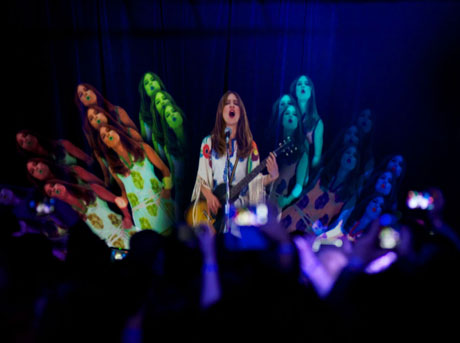 Feist Performs Simultaneously in Vancouver, Toronto and Montreal via Hologram