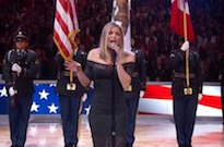 "Fergie Mangled the ""Star Spangled Banner"" at the NBA All-Star Game"