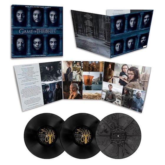 Game Of Thrones Season 6 Soundtrack Gets Triple Vinyl