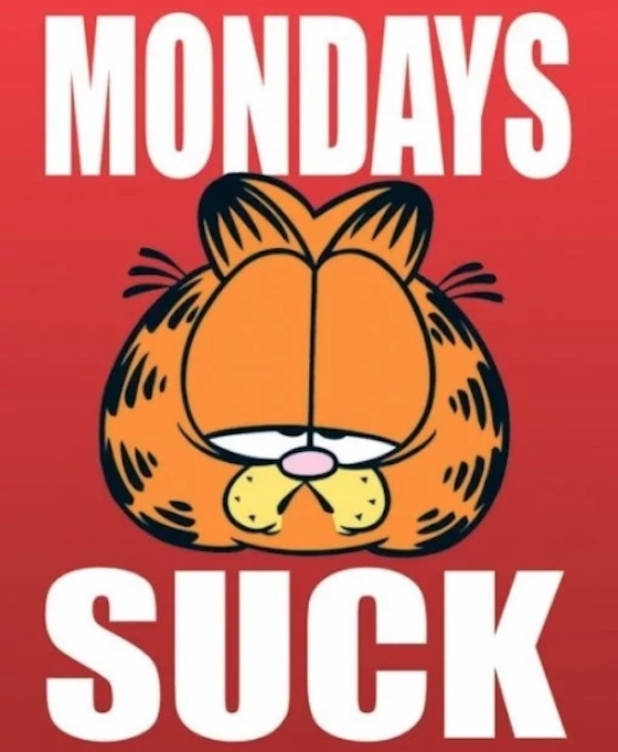 Why Does Garfield Hate Mondays