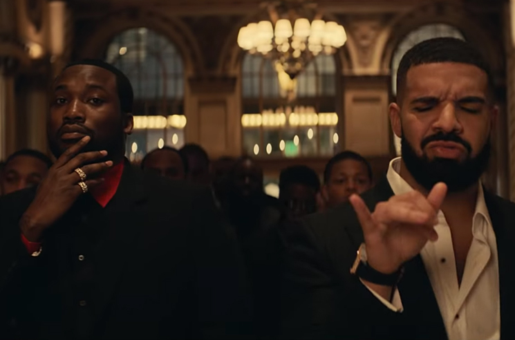 2e3b5a4faa20b Meek Mill and Drake Channel 'The Godfather' in their