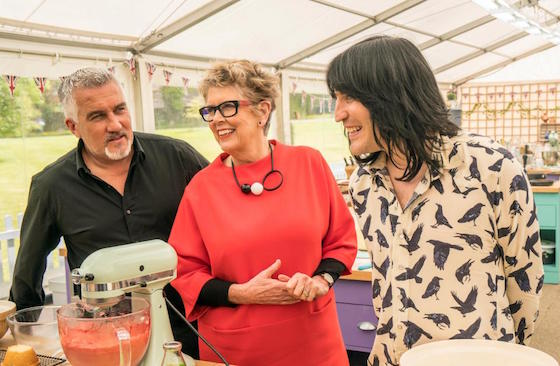 Paul Hollywood 'horrified' by Prue Leith's Bake Off tweet gaffe