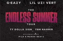 "G-Eazy Plots ""The Endless Summer Tour"" with Lil Uzi Vert and Ty Dolla $ign"