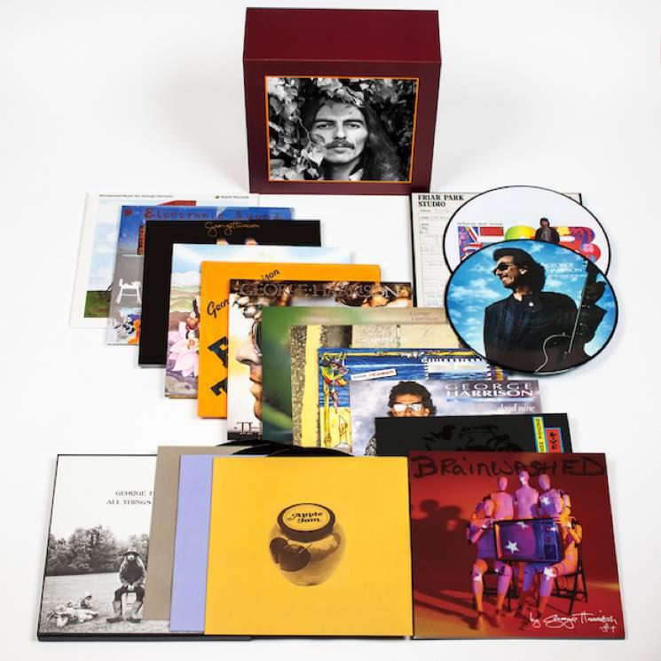 Бокс-сет George Harrison - The Vinyl Collection