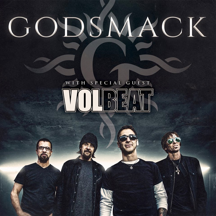 Godsmack Unveil North American Tour with Volbeat