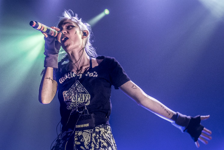 Grimes Blasts Juno Awards for the Lack of Women Nominees