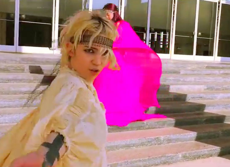 Grimes Just Dropped Seven New Music Videos