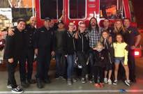 Dave Grohl Cooked BBQ for California Firefighters