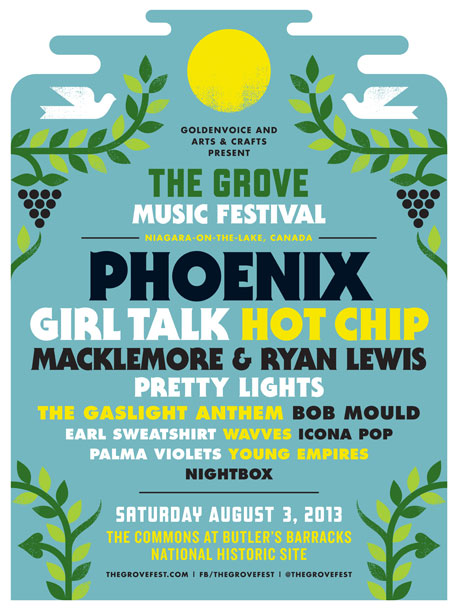 Niagara-on-the-Lake's Grove Music Festival Gets Phoenix, Hot Chip, Girl Talk, Earl Sweatshirt