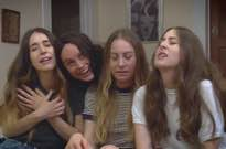​See Brie Larson Play the Fourth HAIM Sister in 'Funny or Die' Sketch
