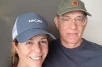 Tom Hanks and Rita Wilson Return Home from Quarantine