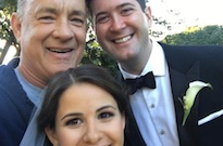 Tom Hanks Crashed a Wedding in Central Park