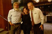 Bearded Harrison Ford Spotted Munching Scrunchions in Newfoundland