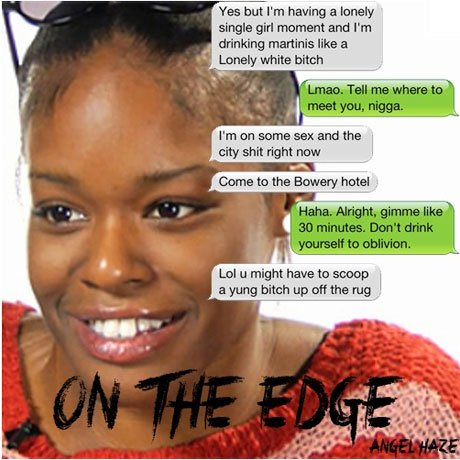 "Angel Haze""On the Edge"" (Azealia Banks diss track)"