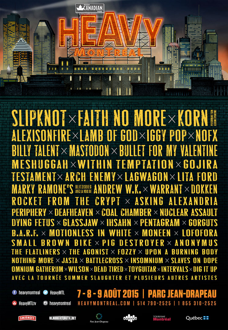 Heavy Montreal Reveals 2015 Lineup