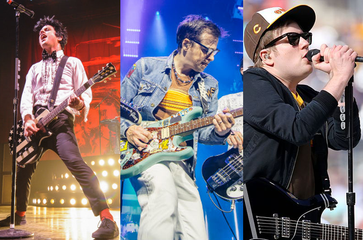 Green Day Weezer And Fall Out Boy Are Teasing A Tour