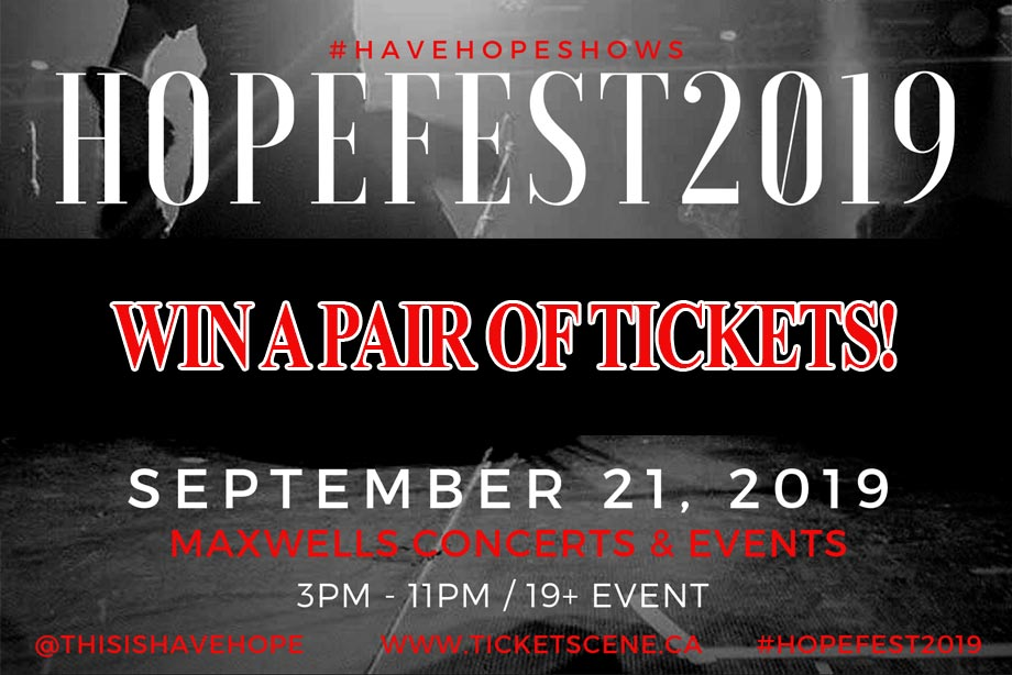 HopeFest – Win a Pair of Tickets