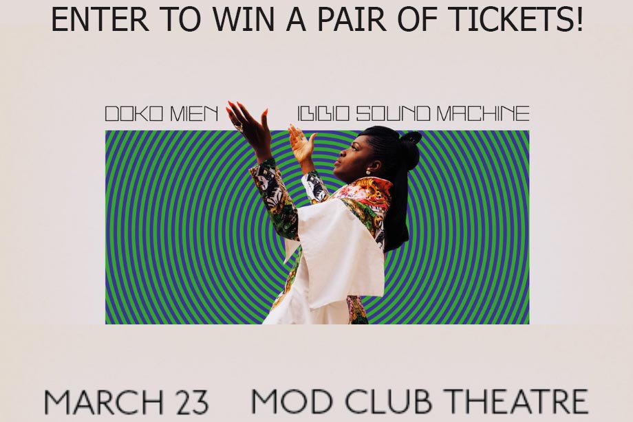 Ibibio Sound Machine Contest - Win a pair of tickets to the Toronto show!