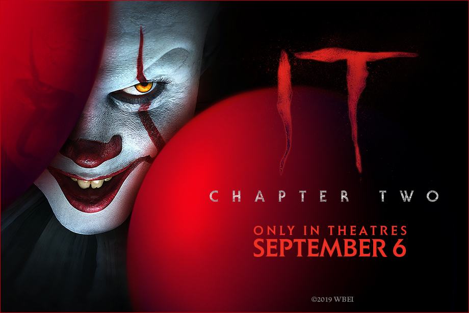 IT Chapter Two' - Enter for a chance to win a massive prize
