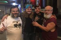 Jack Black Hung Out with the Drummer from 'School of Rock'