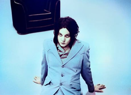 "Jack White""Machine Gun Silhouette"""