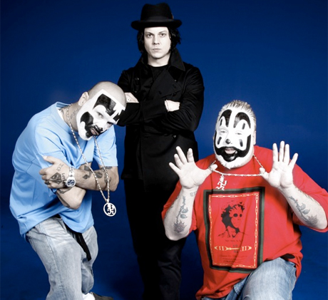 "Jack White & Insane Clown Posse""Mountain Girl"""