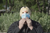 Jason from 'Friday the 13th' Stars in New COVID-19 Mask PSA