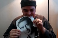 YouTuber Vows to Eat a Picture of Jason Segel Every Day Until Jason Segel Eats a Picture of Him