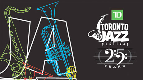 Toronto Jazz Festival featuring Darcy James Argue's Secret Society, Los Lobos, Bela Fleck and the FlecktonesToronto ON June 24-July 3