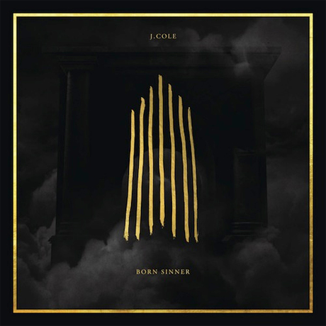 J Cole Born Sinner Album Cover J. Cole Shares 'Born S...