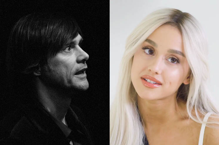 3e83123703957  Jim Carrey Shares Advice About Depression with Ariana Grande