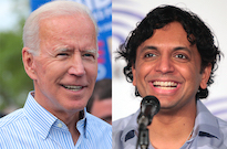 Joe Biden's Presidential Campaign Inspired a New M. Night Shyamalan Film Contest