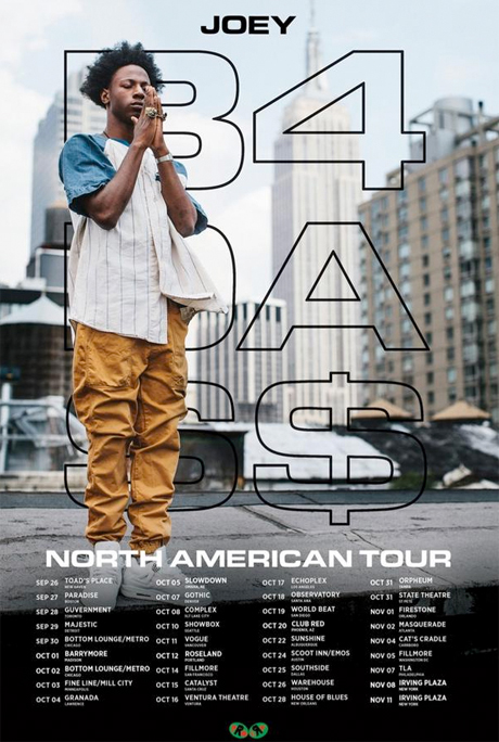 Joey Bada$$ @ The Fillmore & The Catalyst