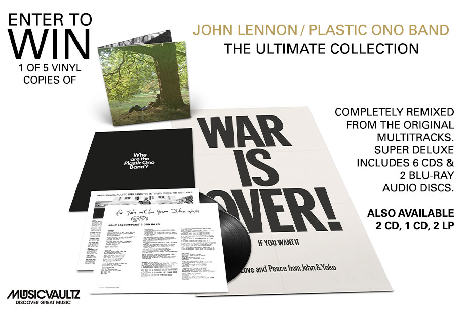 John Lennon — Enter for Your Chance to Win the 2LP Deluxe Vinyl Set of 'Plastic Ono Band'!
