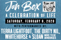 Jon Box Tribute Show Announced with Sloan, Whitehorse