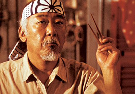 Mr. Miyagi in full Effect