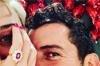 ​Katy Perry and Orlando Bloom Got Engaged on Valentine's Day