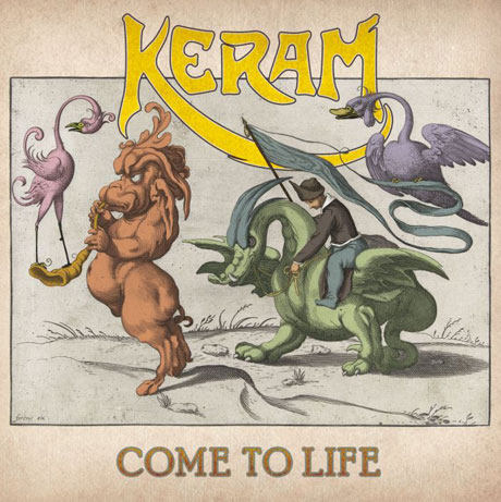 Keram Unveils 'Come to Life,' Premieres 11-Minute Epic with Rush's Alex Lifeson