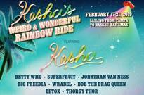 "Kesha Gets Big Freedia, Jonathan Van Ness, Bob the Drag Queen for ""Weird & Wonderful Rainbow Ride"" Cruise"