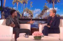 Ellen DeGeneres Tells Kevin Hart the Oscars Still Want Him to Host