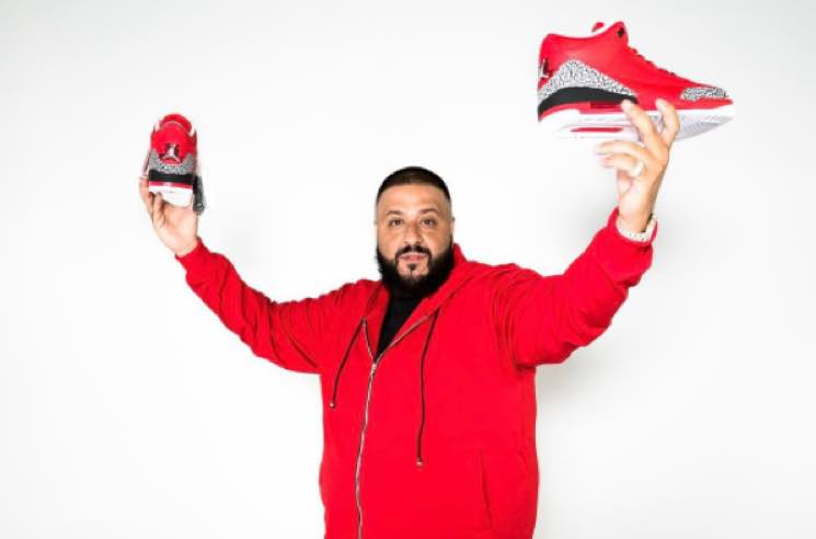 2a0d4751cad9ea DJ Khaled Unveils Custom  Grateful  Air Jordans