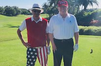 Kid Rock Went Golfing with Donald Trump