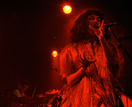 Kimbra / The Stepkids - Commodore, Vancouver, BC, September 25