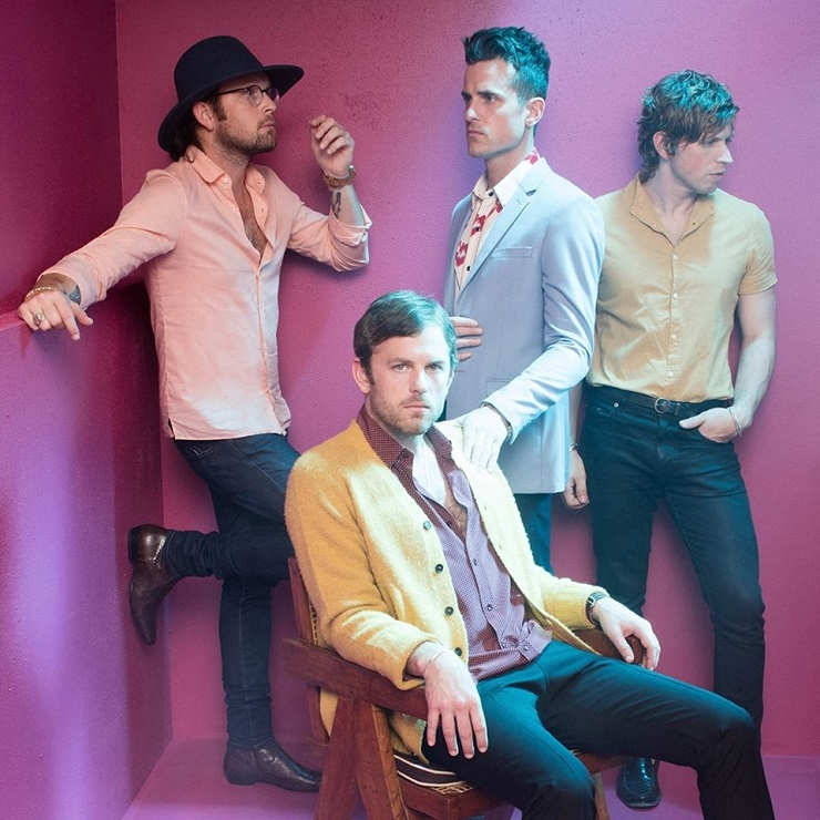 Kings of Leon set release date for new album Walls