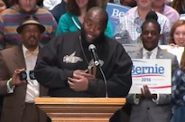 Killer Mike Speaks at Bernie Sanders Rally in Atlanta