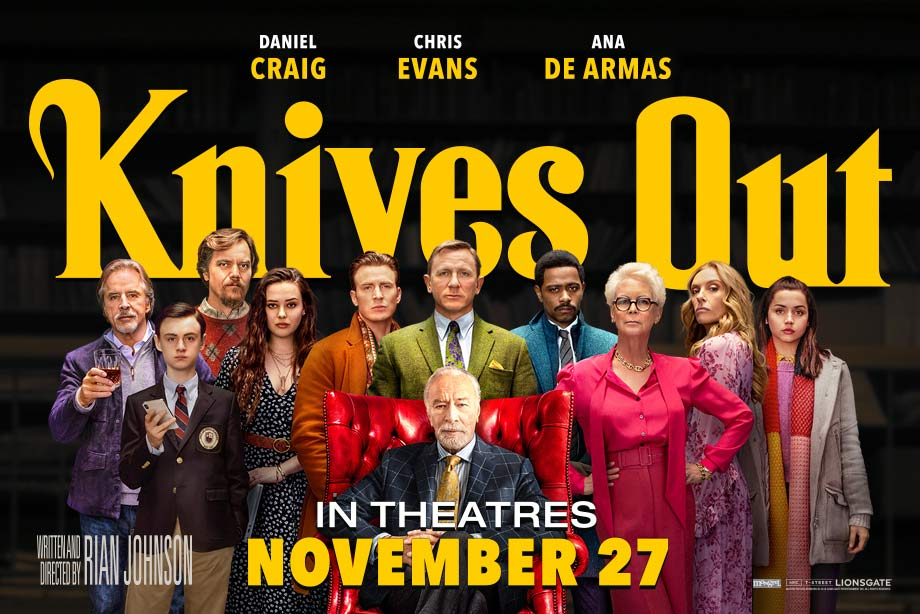 Knives Out – Enter For a Chance to Win Advance Screening Passes and More!