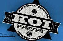Kitchener's KOI Music Fest Expands Lineup with the Ataris, Rich Aucoin, Isotopes