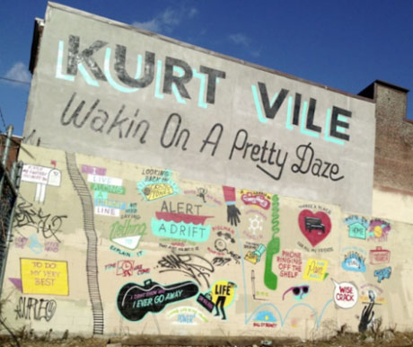 Kurt Vile Announces New Album via Mural in Philadelphia